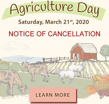 Agriculture Day 2020 Cancellation Notice
